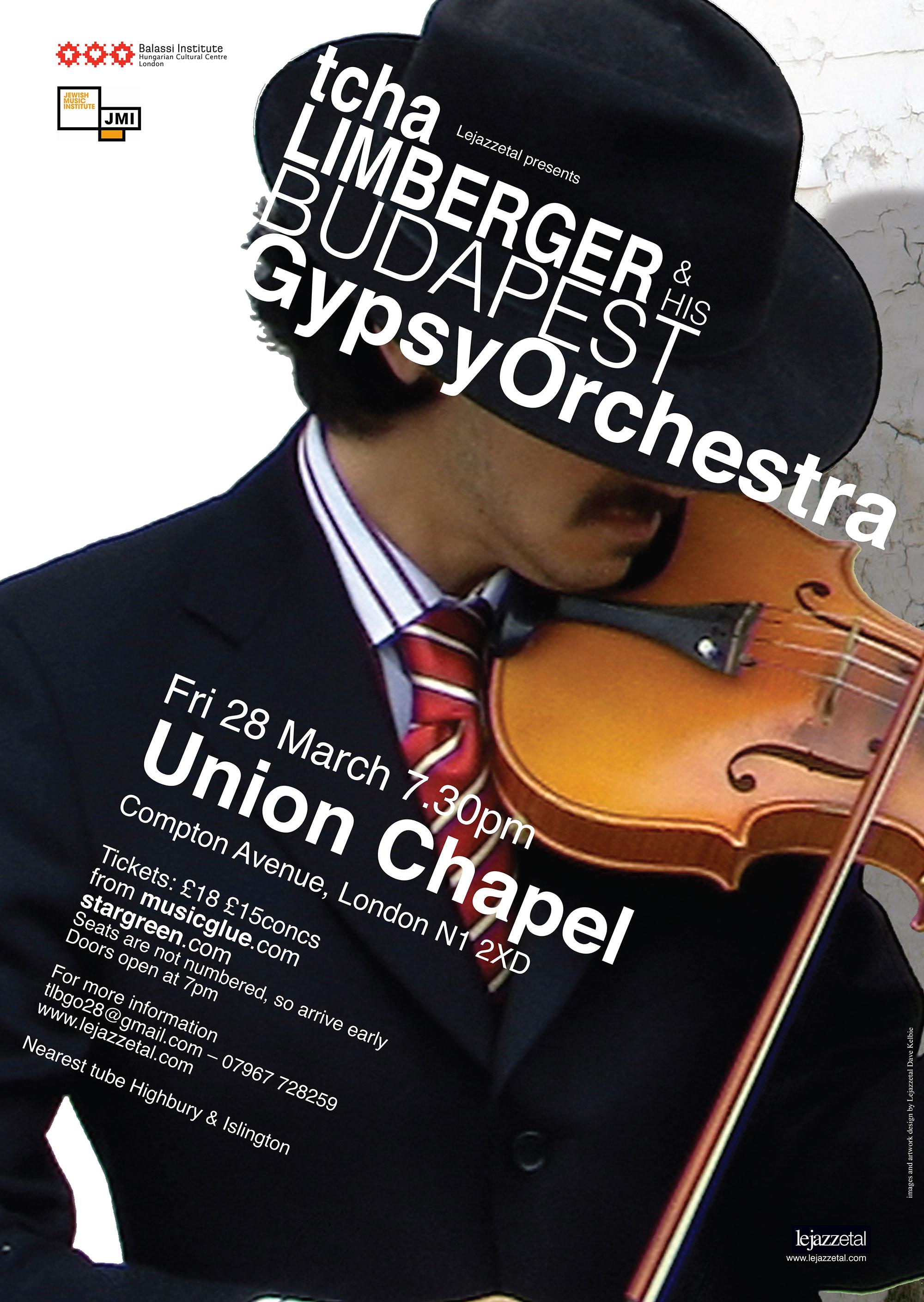 Budapest Gypsy Orchestra poster