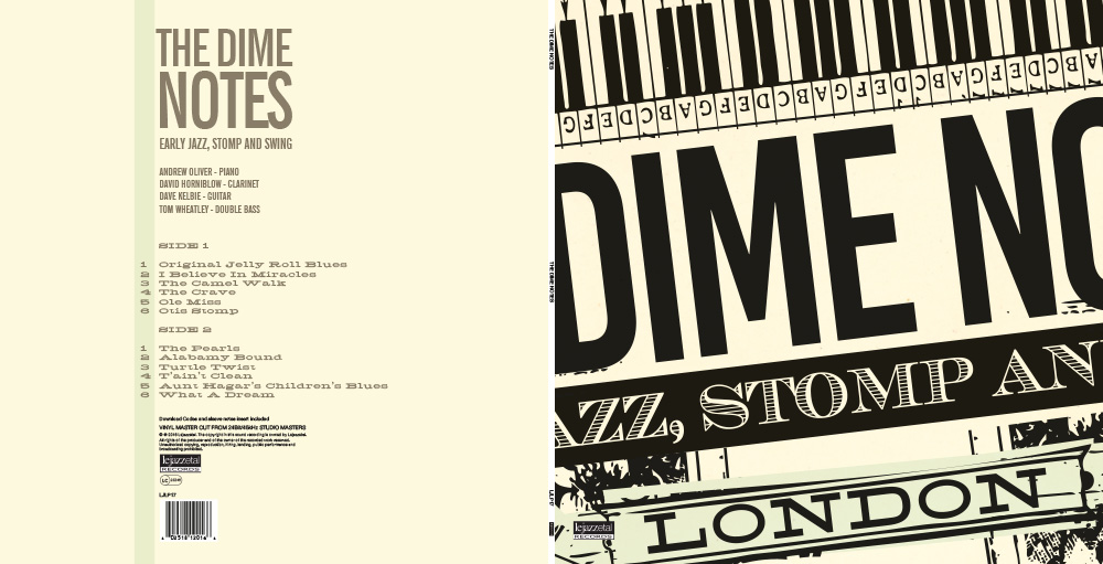 The Dime Notes on vinyl