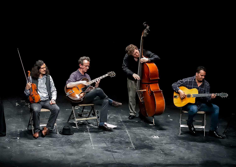 Tcha Limberger Trio with Mozes Rosenberg